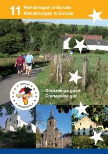 Eurode wandelroutes - voorzijde brochure klein