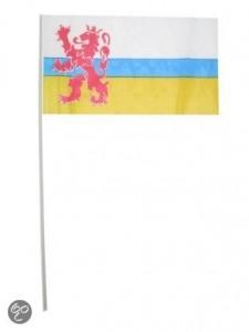 vlaggetjes op stok