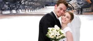 trouwen in SnowWorld