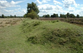 Groote Heide - markering landingsbaan - H Bussink Limburgs Landschap