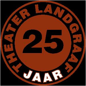 Logo Theater Landgraaf 25 jaar